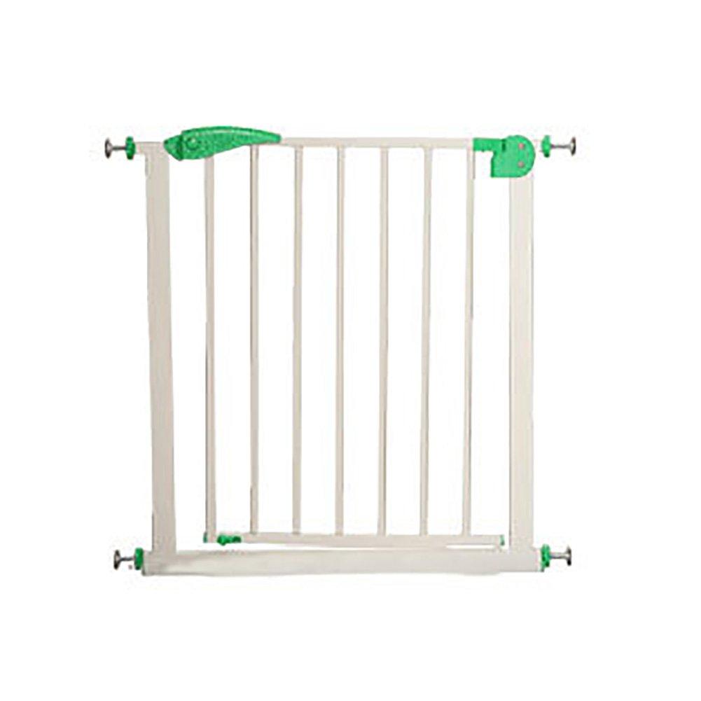 赤ちゃんの安全性遊び場騒ぎ門緑色の赤ちゃん階段の障壁ペットの犬のフェンスの隔離扉コストウェイの子供の安全ゲートの延長 (サイズ さいず : 75-82cm+56cm) 75-82cm+56cm  B07CW6YGC3