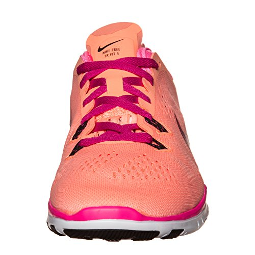 Nike Free 5.0 TR Fit 5 Breathe Women Fitnessschuhe sunset glow-fireberry-pink pow-black - 37,5