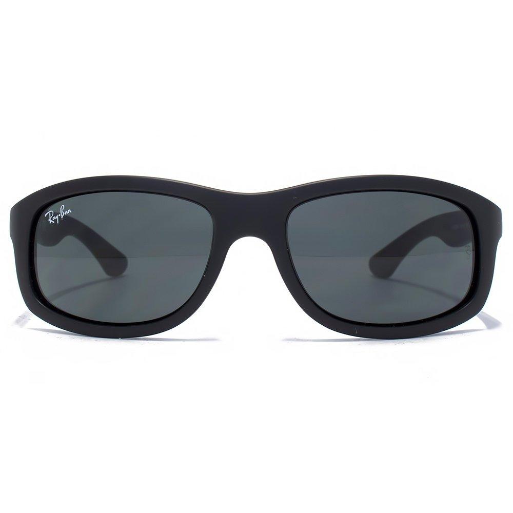 Ray-Ban Junior Wrapped Sunglasses in Matte Black RJ9058S 700187 50 Negro MOD. 9058S SUN700187_-50