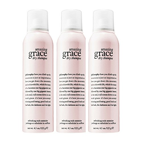 Philosophy Amazing Grace Dry Shampoo, 4.3 Ounce (3 pack) by by Philosophy