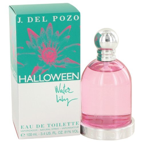 Halloween Water Lily by Jesus Del P-Ounceso For Women. Eau De Toilette Spray 3.4-Ounces (Pack of 2) -