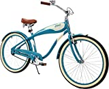 Columbia Superb 5 Star, 26-Inch Men's Retro Beach Cruiser Bike, Teal For Sale