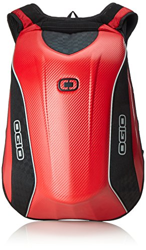 OGIO 123006.02 Red No Drag Mach 5 Motorcycle Bag pack Ogio Mesh Backpack