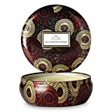 Voluspa Goji & Tarocco Orange Japonica Limited Edition 3 Wick Candle in Decorative Tin 11 oz