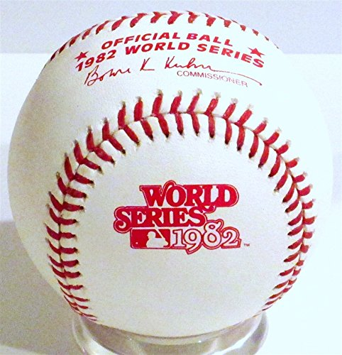 Rawlings 1982 Official World Series Game Baseball ()