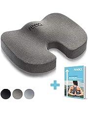 feela.® Premium Orthopädisches Sitzkissen Orthopädisch Büro bei Steißbeinschmerzen Rollstuhlkissen Dekubitus Sitzunterlage