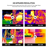 384 x 288 IR Resolution Infrared Thermal Imaging