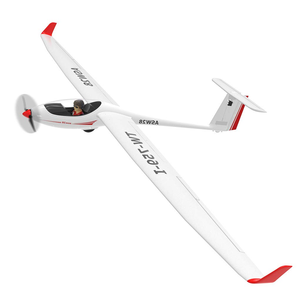 Hmlai Clearance PNP 759-1 Radio Control RC Glider Airplane Toys 8.5ft Wingspan with Brushless Motor Plastic Unibody Airplane (White) by Hmlai Clearance