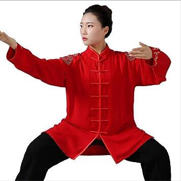 FYUUN Tai Chi Uniforme Traje De Kungfu Artes Marciales Traje De ...