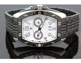 Aqua Master Tonneau 0 -50 ctw Herren Diamant Armbanduhr W315–8