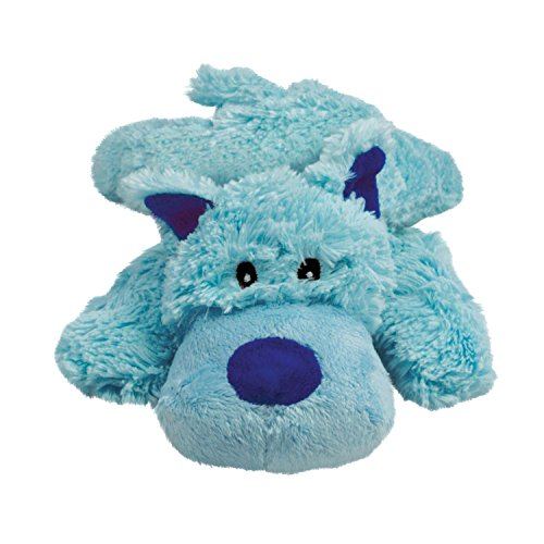 KONG Cozie Baily the Blue Dog, Medium Dog Toy, - Baily Blue