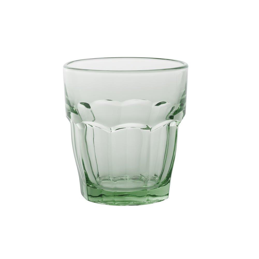 Bormioli Rocco 5183314 Rockbar rocas vasos vasos de copas de cristal, 27 cl, color verde 27cl Pengo