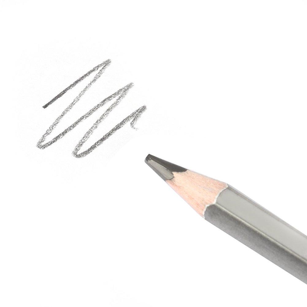 24 piezas l/ápices de dibujo 9H-14B no t/óxico Sketch Art Grafito Set de l/ápices de grafito