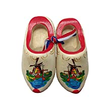 "Dutch Shoes Decorated Wooden Clogs (2.5"")"