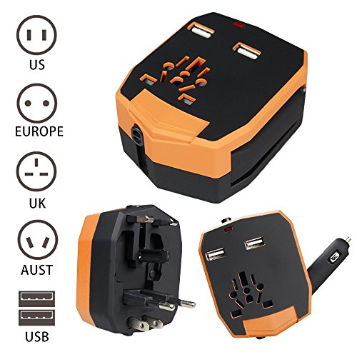 Lecxci Universal Adaptor International Australia