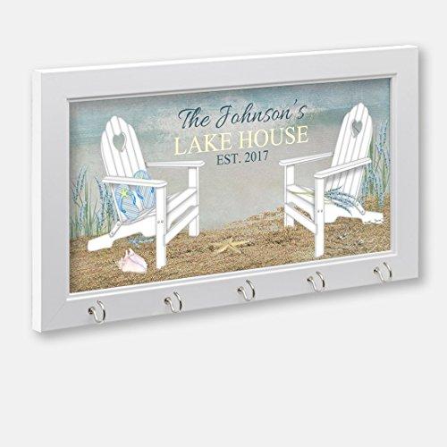 Personalized Lake House Or Beach House Key Holder, Key Hange