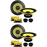 4) New PYLE PLG6C 6.5 800W 2 Way Car Audio Component Speakers Set Power System