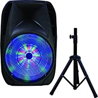 IQ Sound Speaker System - 25 W RMS - Portable - Battery Rechargeable - Wireless Speaker(s) - Black
