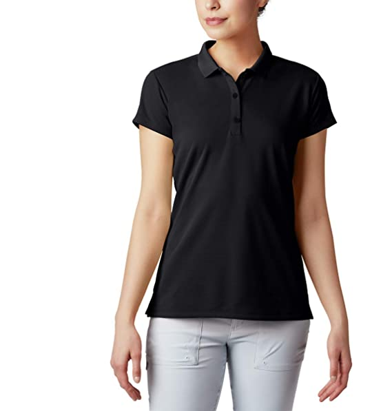 Columbia Sportswear Women\'s Plus-Size Innisfree Short Sleeve Polo Shirt