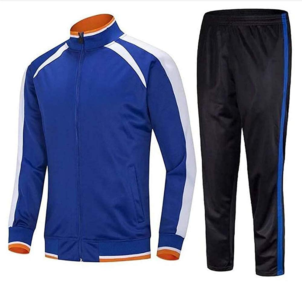 Cdon Mens Athletic Tracksuit Warm Jogging Sweat Suits