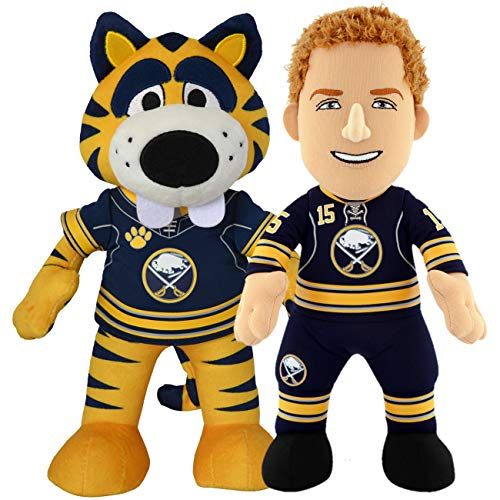 (Bleacher Creatures Buffalo Sabres Dynamic Duo Sabretooth and Jack Eichel 10