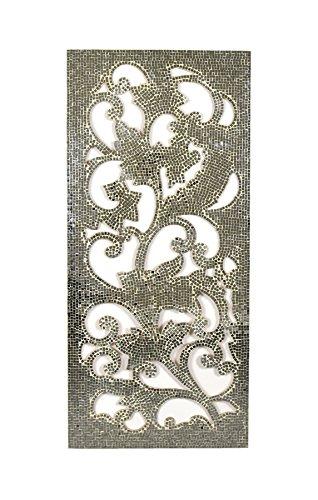 Habitat Corman Mosaic Wall Panel, Silver