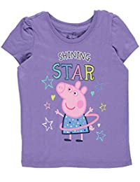 "Peppa Pig Little Girls' Toddler ""Shining Star"" T-Shirt"