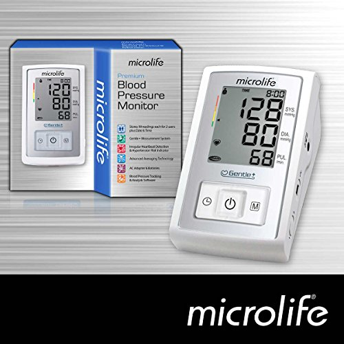Microlife Premium Arm Blood Pressure Monitor Kit