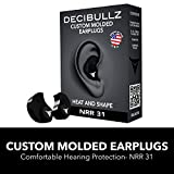 Best custom hearing protection for shooting - Decibullz - Custom Molded Earplugs, 31dB Highest NRR Review