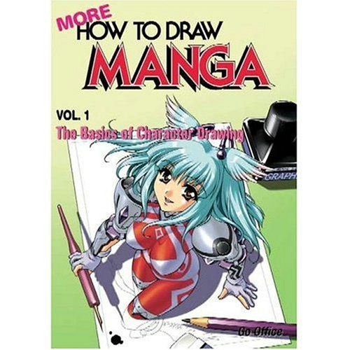 More how to draw manga volume 1 the basics of character drawing manga technique go office 9784766114829 amazon com books
