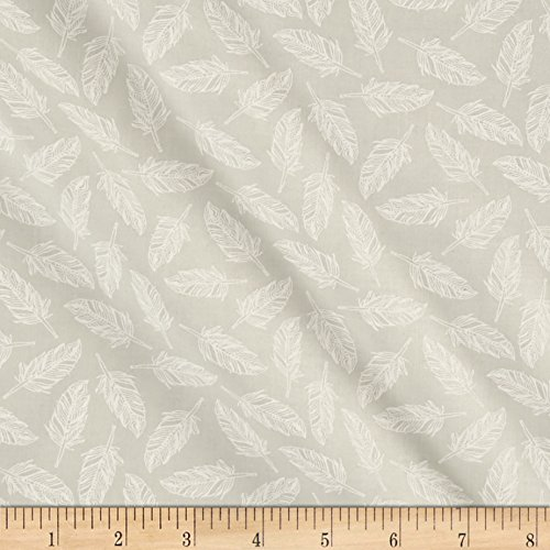 Moda Whispers Muslin Mates Float On Feather Fabric By The (Moda Muslin Mates)