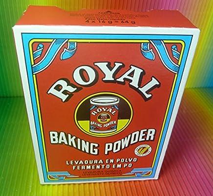 ROYAL BAKING POWDER 1 PACK 64g (4 SACHETS X 16g)  LEVADURA SOBRES, FRESH: Amazon.es: Alimentación y bebidas