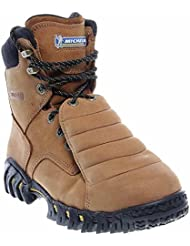 MICHELIN Men's 8' Sledge Metatarsal Eh Work Boot Steel Toe Brown 9 EE
