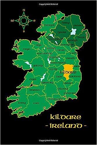 Kildare Ireland County Map Irish Travel Journal Republic Of Ireland