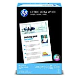HP Everyday Papers HP Office Ultra White, 20-Pound, 11 by 17-Inch, Ledger, 92 Bright, 500 Sheets/1 Ream (172000)