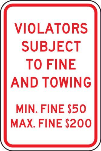 (Accuform FRA210RA Engineer-Grade Reflective Aluminum Handicapped Parking Sign (Pennsylvania), Legend