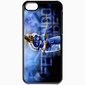Personalized iPhone 5C Cell phone Case/Cover Skin 2013 new fernando torres Black by mcsharks