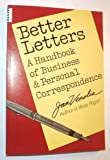 Better Letters, Jan Venolia, 0898150647