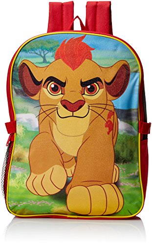 Price comparison product image Disney Little Boys Lion Guard Backpack with Lunch Kit, Multi, One Size