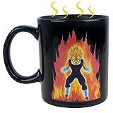 MinoCat Dragon Ball Z Color Changing Vegeta MugCoffee Mug Heat Reactive Mug