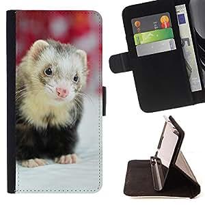 Dragon Case- Mappen-Kasten-Prima caja de la PU billetera de cuero con ranuras para tarjetas, efectivo Compartimiento desmontable y correa para la mu?eca FOR LG G3 LG-F400 D802 D855 D857 D858 - Squirrel