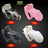 Lovepan Male chillers chastity cage natural resin chastity lock Device set adult CD077