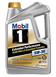 Mobil 1 (120766) Extended Performance 5W-30 Motor Oil - 5 Quart, 3 Pack…