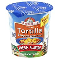 Dr. McDougalls Tortilla Big Cup Soup 2.0 oz - Pack of 6 by Dr. McDougall's