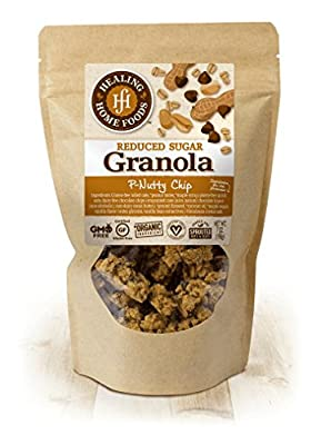 Reduced Sugar P-Nutty Chip Granola