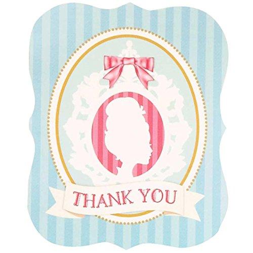 BirthdayExpress Princess Tea Party Thank-You Notes (8)