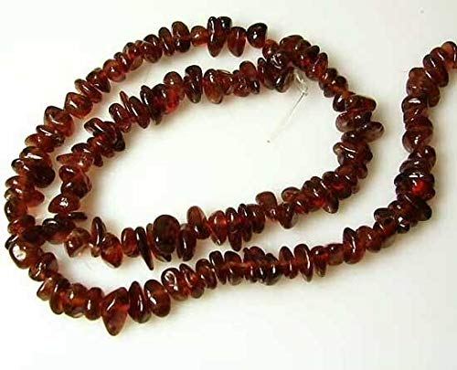 Blood Red Pyrope Garnet Nugget Bead Strand for Jewelry Making 110468