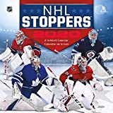 NHL Stoppers 2020 Wall Calendar (English and French Edition)