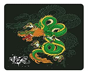 Traditional Dragon Design Rectangular Mouse Pad Drwithin Then Age