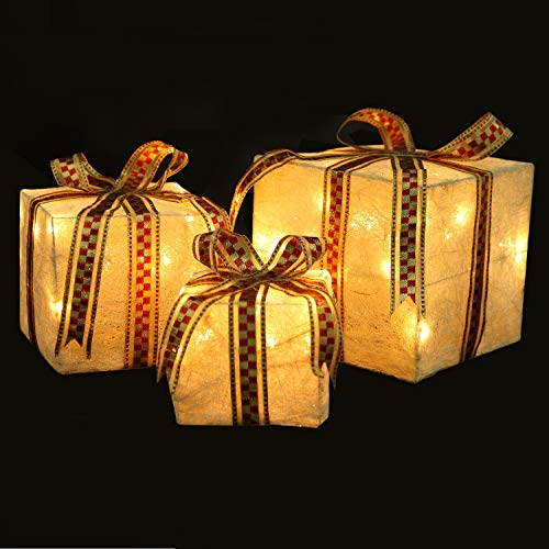Outdoor Christmas Boxes With Lights